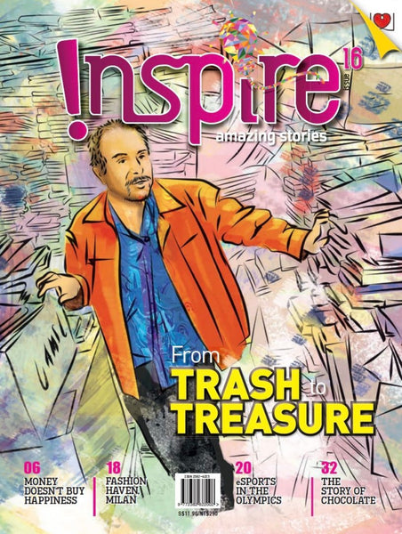 Inspire Magazine Assorted Edition - 3 issues (for 13 y/o+)