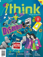 iThink Magazine 2018  Assorted Issues - 4 issues (for 15 y/o+)