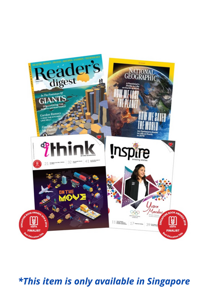 Bundle Promotion - inspire, iTHINK , Reader's Digest & National Geographic