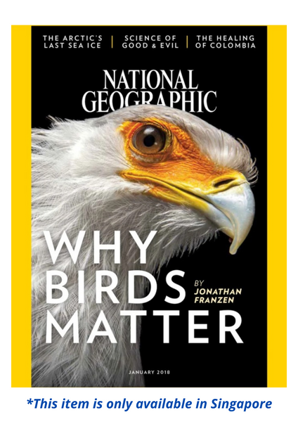 National Geographic (PRINT & DIGITAL COPY)