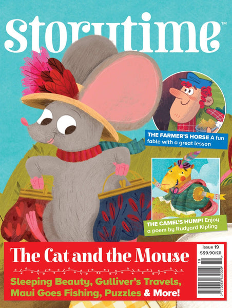 Storytime Magazines 2020 : 6 issues (for 4 y/o+)