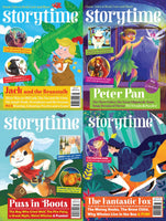 Storytime Magazines: 4 issues - Adventure Bundle (for 4 y/o+)