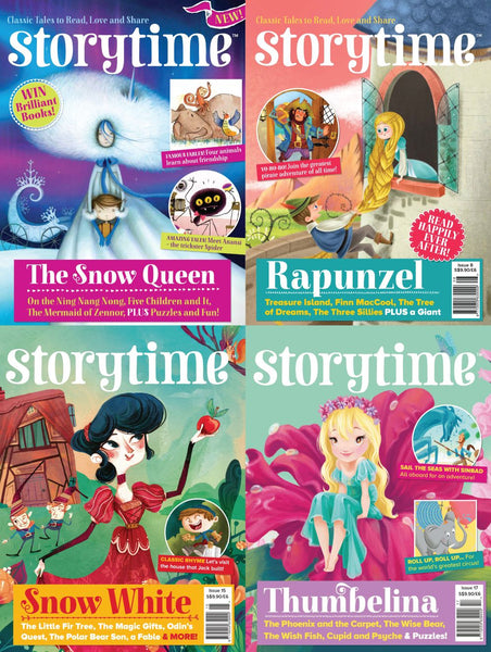 Storytime Magazines: 4 issues - Fairy Tale Bundle (for 4 y/o+)