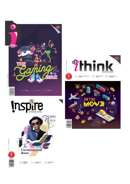 [Combo 2020] i Magazine (10+ y/o), Inspire Magazine (13+ y/o) and iThink Magazine (15+ y/o): 8 single issues+ 1 double issue