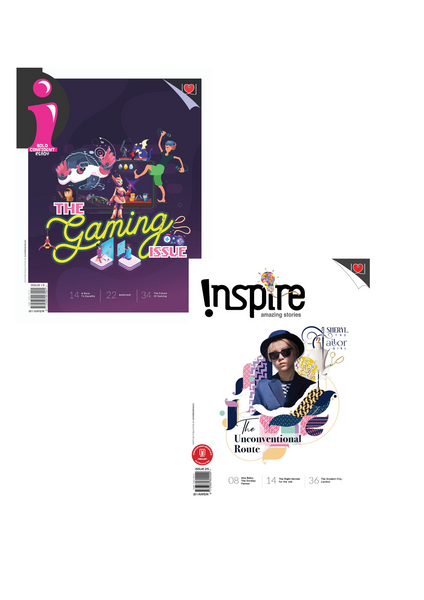 [Combo 2020]: i Magazine (10+ y/o) and Inspire Magazine (13+ y/o): 6 single issues