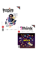 [Combo 2020]: Inspire Magazine (13+ y/o) and iThink Magazine (15 y/o+): 4 single issues + 1 double issue