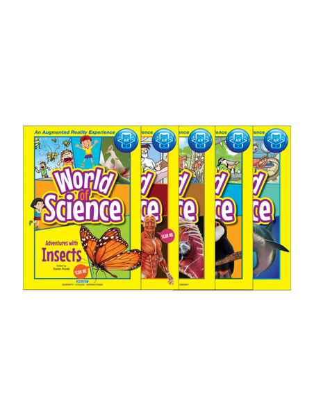World of Science Comic Series