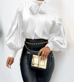 Long Sleeve Lantern Blouse (Pre-Order)