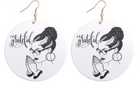 """Grateful"" Earrings"