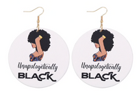 """Unapologetically Black"" Earring"