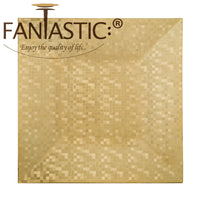 Load image into Gallery viewer, Fantastic® 13-Inch Square Plastic Charger Plates Shiny Finish, Mosaic Pattern