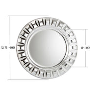 Load image into Gallery viewer, Fantastic® 13-Inch Round Plastic Charger Plates Shiny Finish, Beadeds Pattern