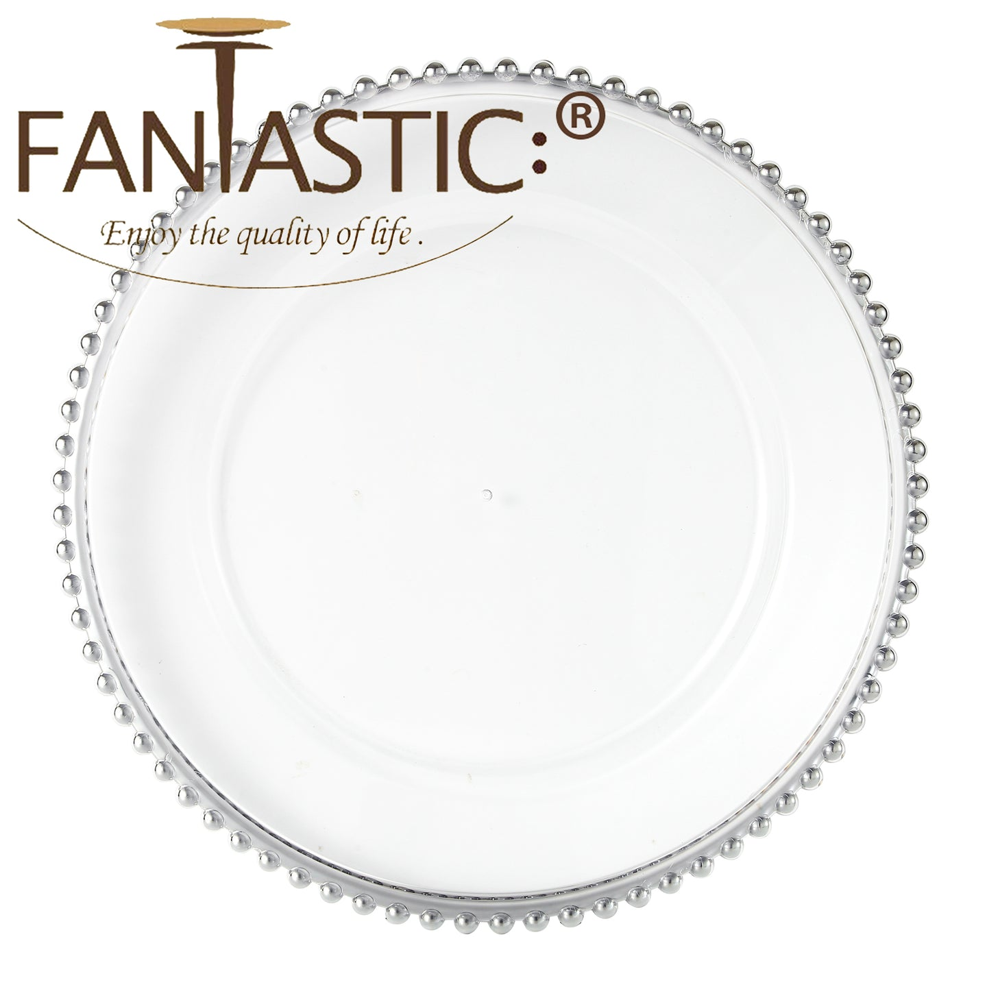 Fantastic® 13-Inch Round Faux Glass