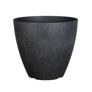 FANTASTIC :) 15-INCH Egg Shape Decorative Plastic Thin Planters, Sand Brunsh Finish