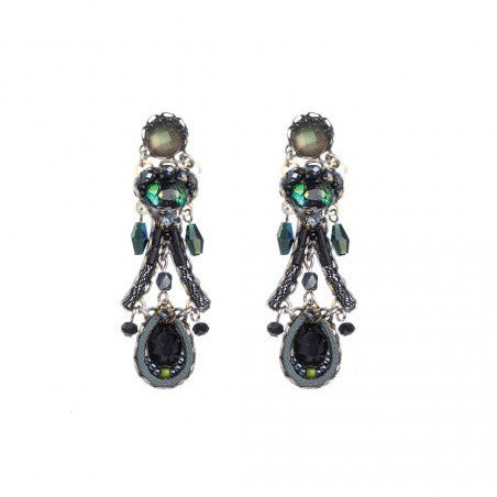 Midnight Ophelia Earrings