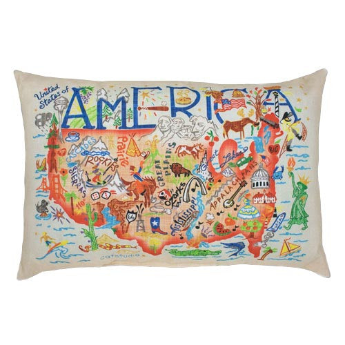 Outdoor Pillow - America