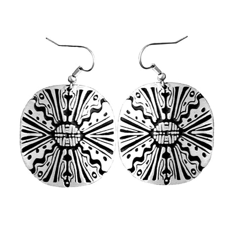 Mosaic Dandelion Earrings