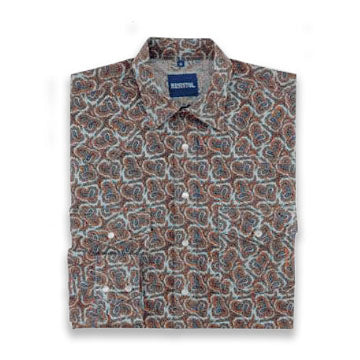 Wild West Paisley Kids Shirt