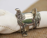 Western Saddle Napkin Ring