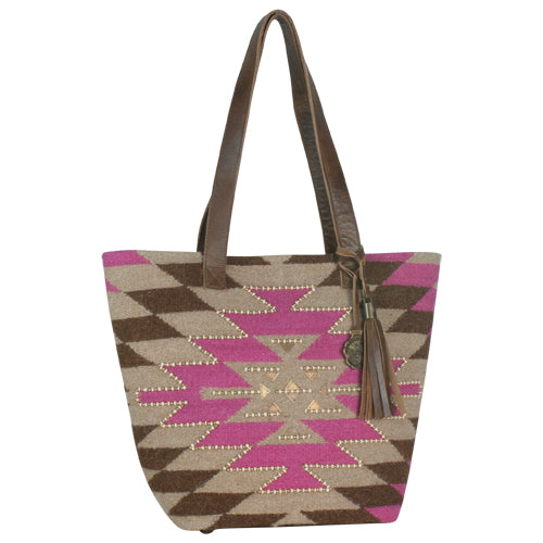 Southwestern Woven Tote