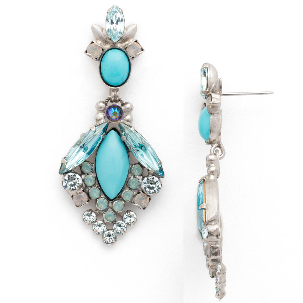 Nouveau Crystal Earrings