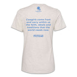 Cowgirl Inspirational Quote T-Shirt