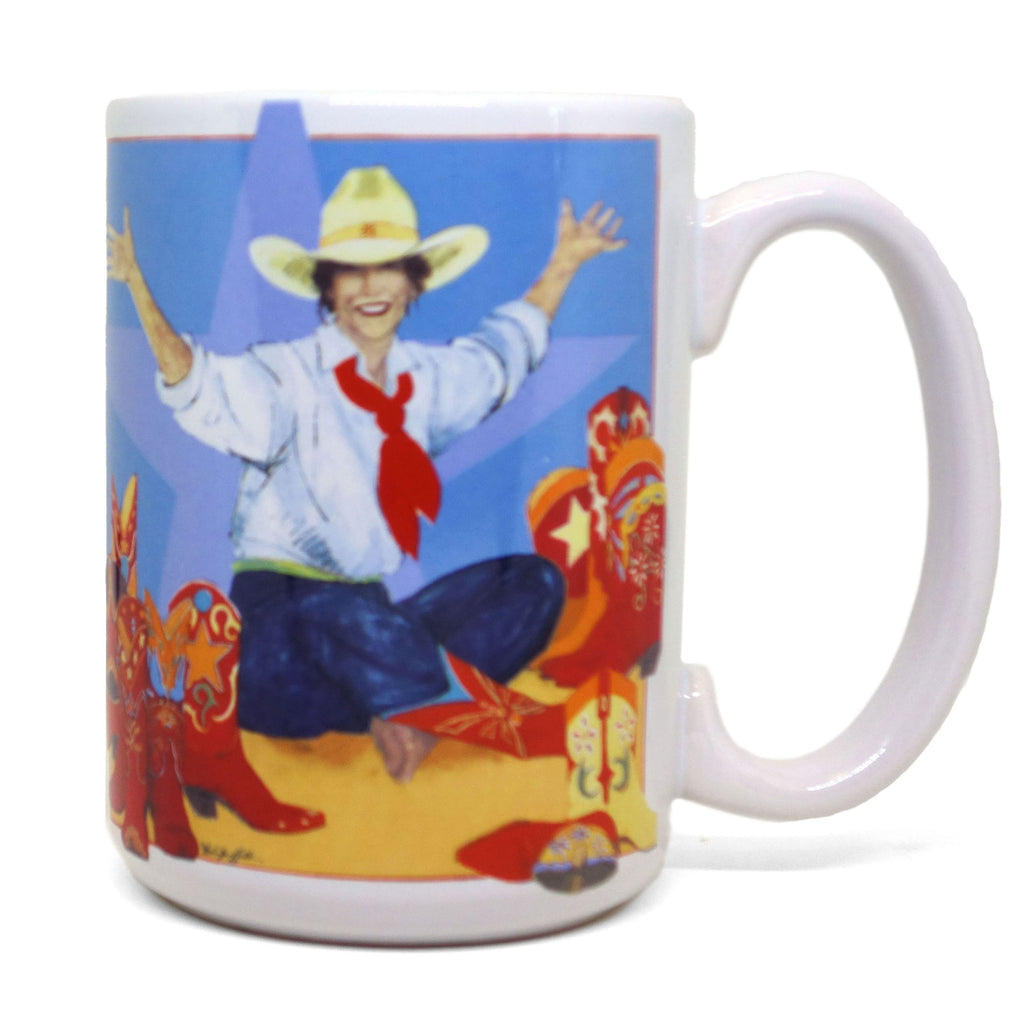 World At Her Feet Mug
