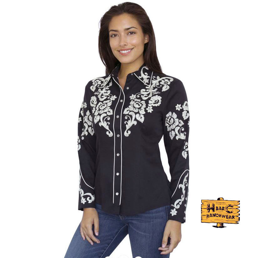 The Fort Worth Shirt, black