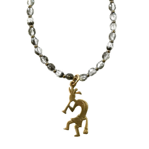 Kokopelli Charm Necklace
