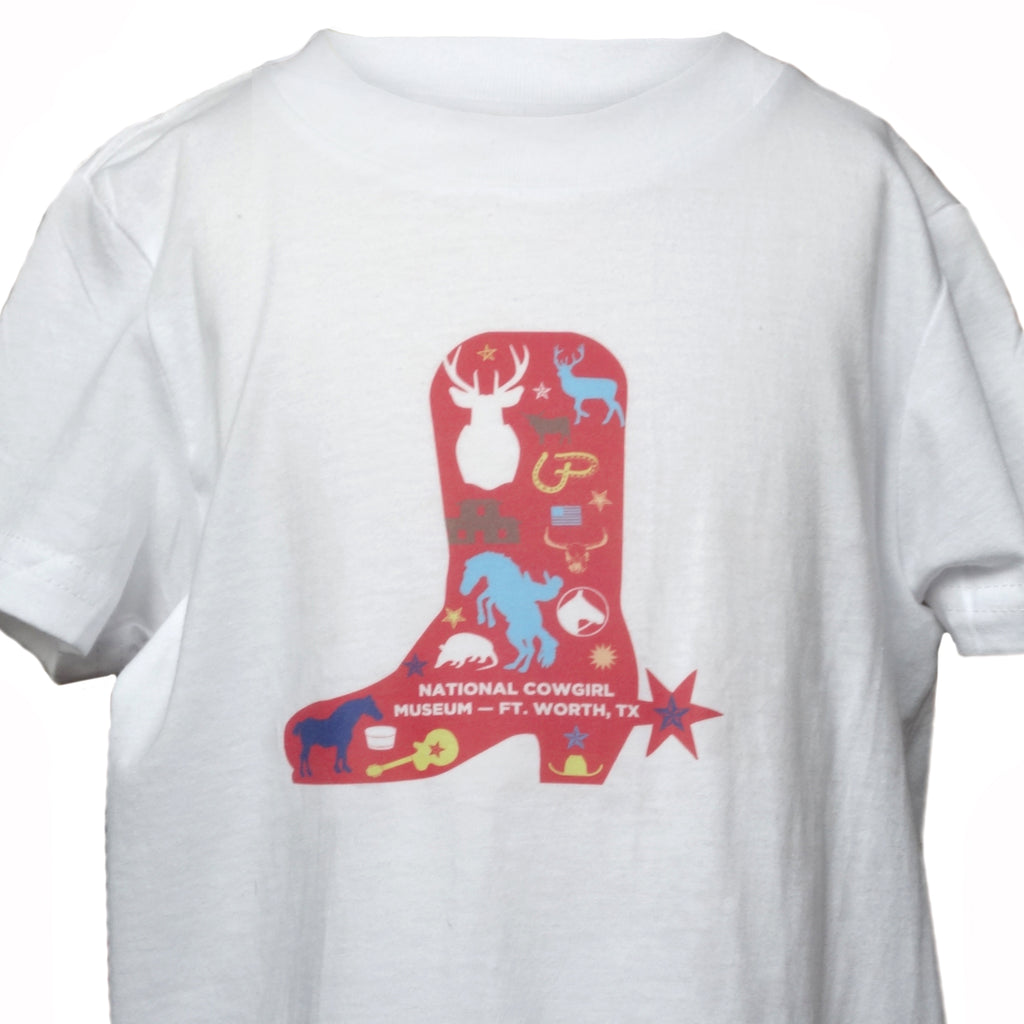 Kids Graphic Boot T-Shirt