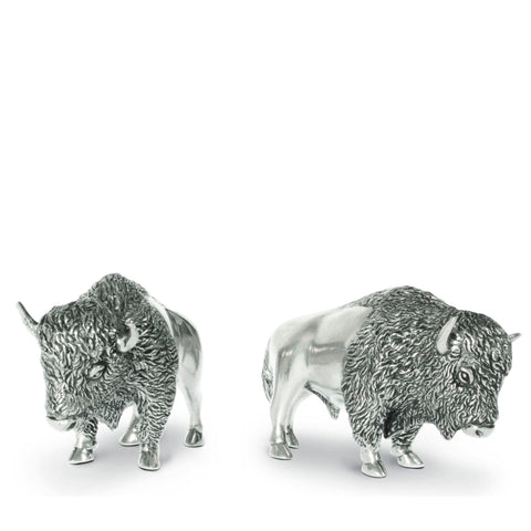 Buffalo Salt and Pepper Set