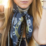 Wild and Free Silk Scarf