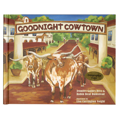 Goodnight Cowtown, signed