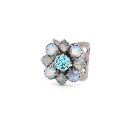 Flora & Fauna Crystal Ring