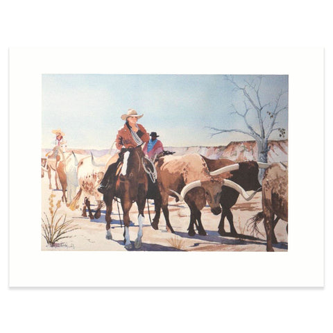 """Along The Santa Fe Trail"" Print"