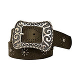 Studded Flower Belt