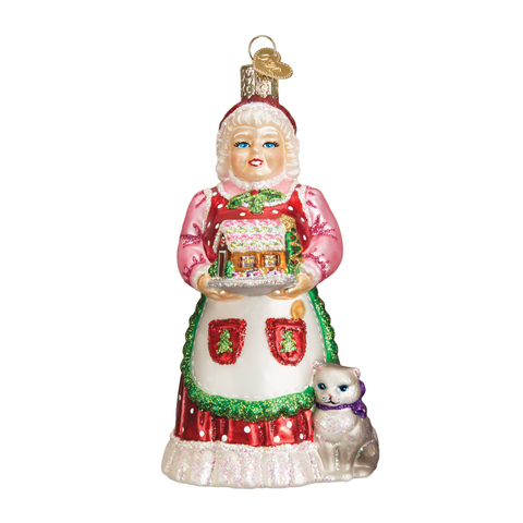Mrs. Claus ornament