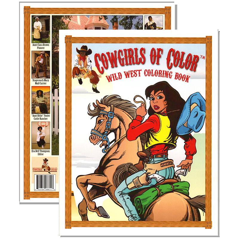 Cowgirls Of Color Coloring Book – The Shop At The Cowgirl
