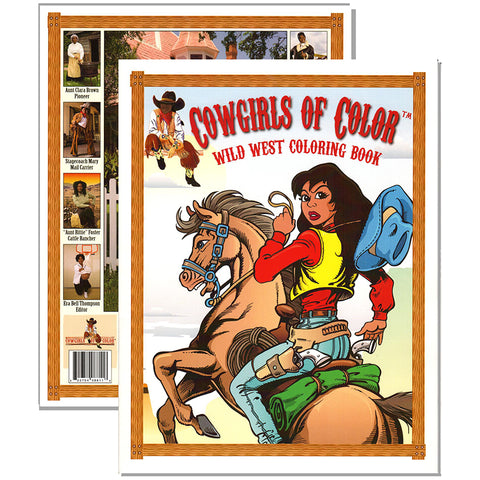 Cowgirls of Color Coloring Book