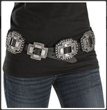 Cross Concho Belt