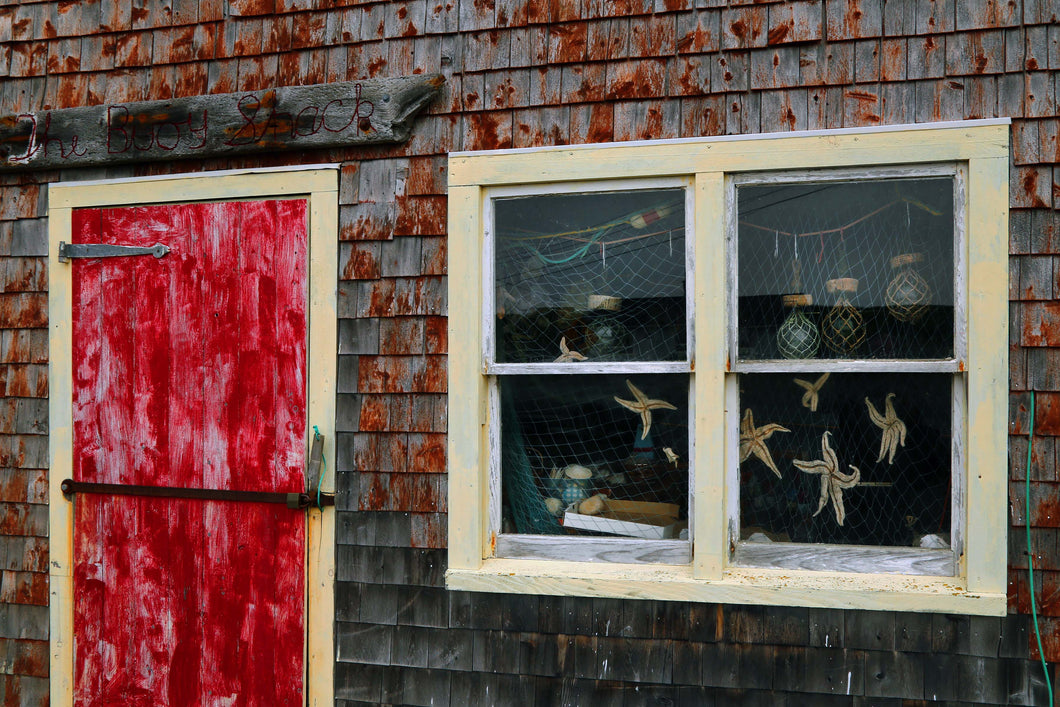 Fishing Shed Peggys Cove