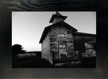 Load image into Gallery viewer, Black and White Montana School House