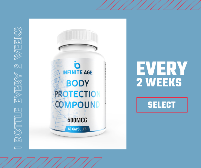 Infinite Age Body Protection Compound - Every 2 Weeks Subscription