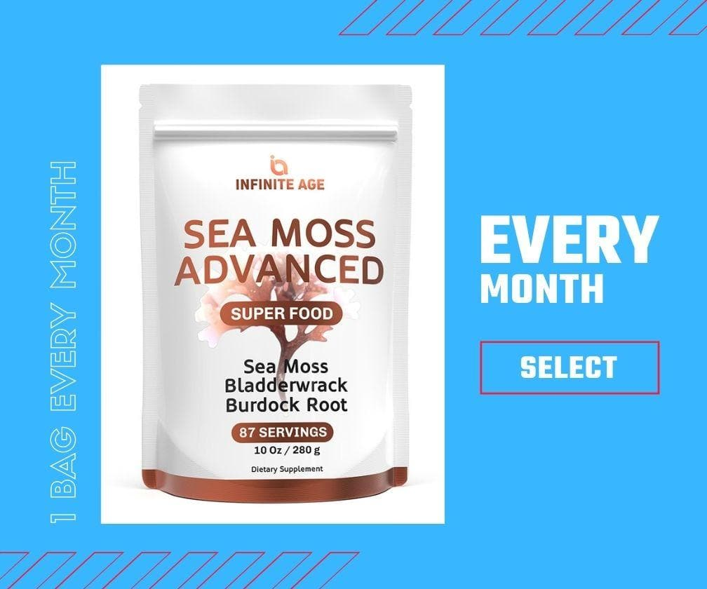 Sea Moss Powder - Monthly Subscription
