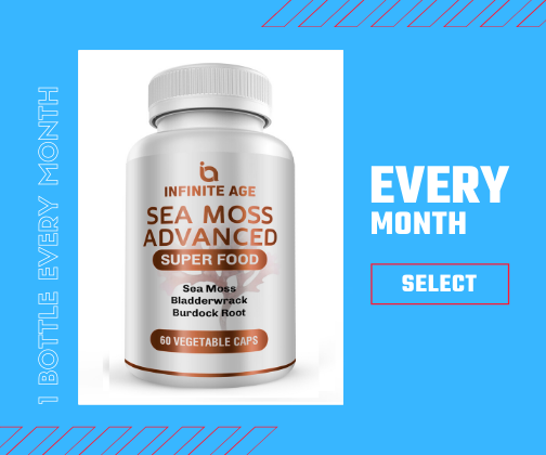 Infinite Age - Sea Moss Advanced Monthly Subscription