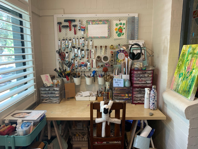 5 things to consider when reorganising your studio!