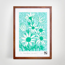 Load image into Gallery viewer, Flannel Flowers (Fresh Edition) - Limited Edition Linocut print