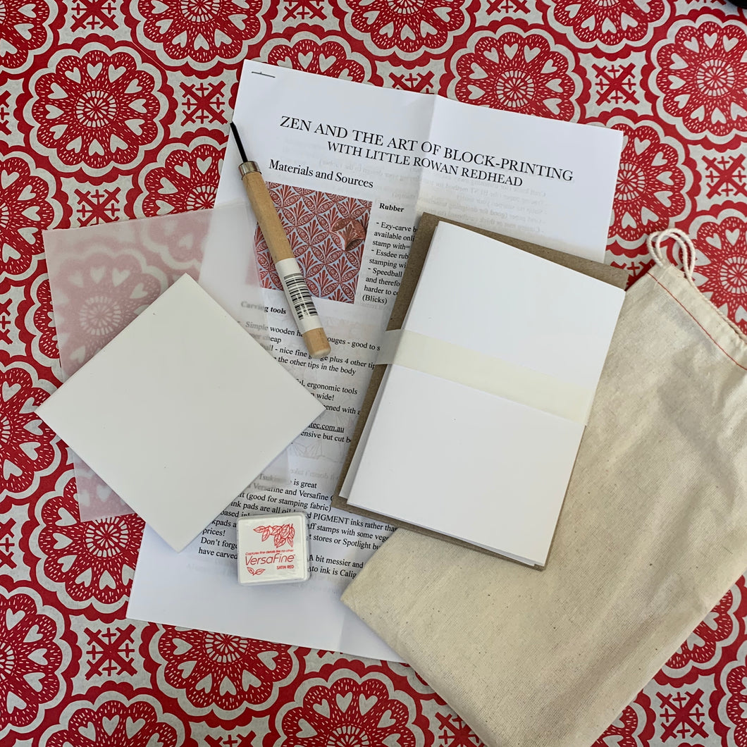 Stamp-carving starter kit