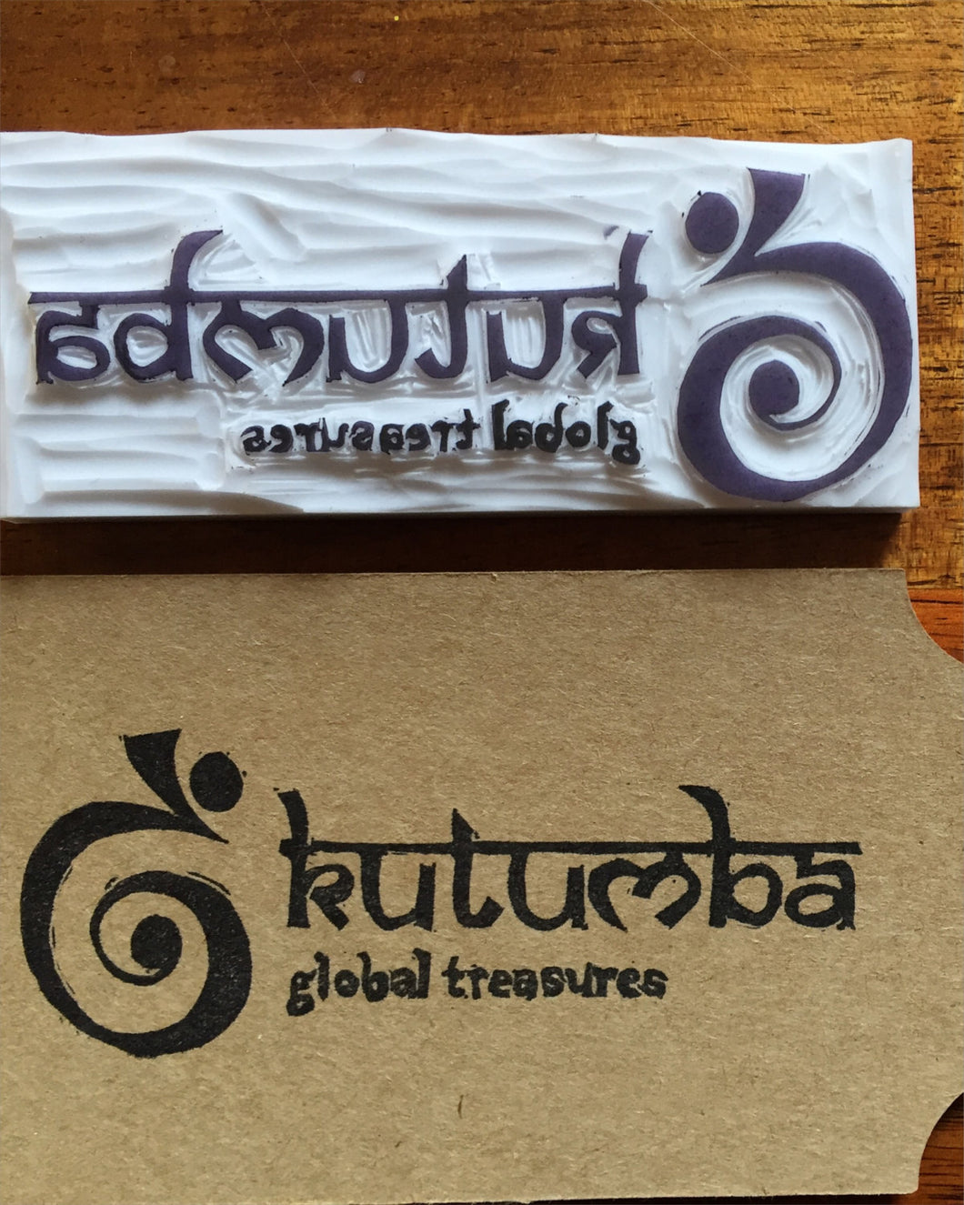 Custom Made Handmade Logo Stamp
