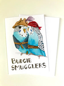 Budgie Smugglers - Greeting Card